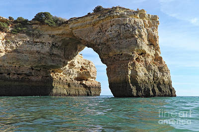 Sea Photograph - Arch Of Albandeira by Angelo DeVal