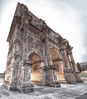 Photograph - Arch Of Constantine by S Paul Sahm
