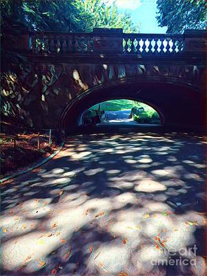 Photograph - Arch Of Dreams - Central Park by Miriam Danar