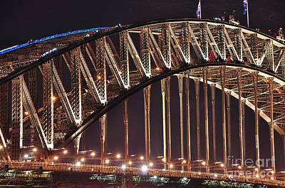 Photograph - Arch Of Harbour Bridge By Kaye Menner by Kaye Menner