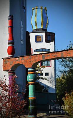 Friedensreich Photograph - Arch Of Hundertwasser by Jost Houk