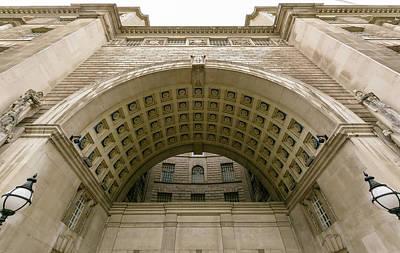 Photograph - Arch Of London Thames House by Jacek Wojnarowski