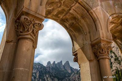 Photograph - Arch Of Monserrat Mountain by Walt  Baker