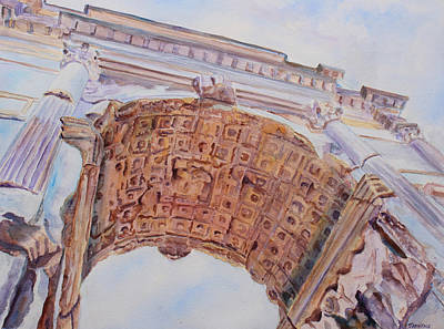 Arch Of Titus One Original by Jenny Armitage