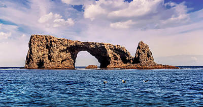 Photograph - Arch Rock by Endre Balogh