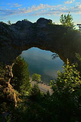 Photograph - Arch Rock In The Morning by Keith Stokes