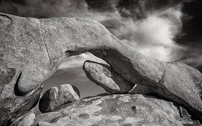 Mojave Photograph - Arch Rock by Joseph Smith