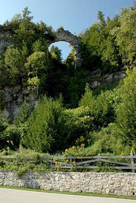 Photograph - Arch Rock Mackinac Island by LeeAnn McLaneGoetz McLaneGoetzStudioLLCcom