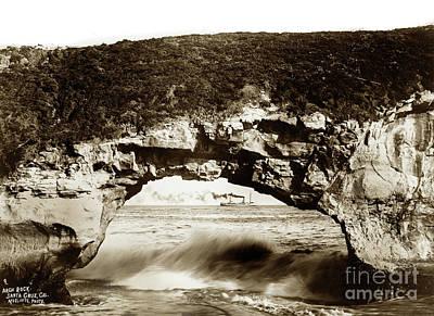 Photograph - Arch Rock, Santa Cruz, California by California Views Mr Pat Hathaway Archives