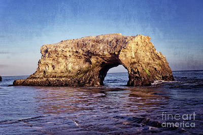 Photograph - Arch Rock Santa Cruz by Jim And Emily Bush