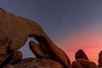 Photograph - Arch Rock Sunset by Ed Clark