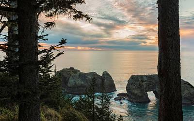 Photograph - Arch Rock Sunset by Loree Johnson