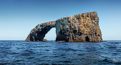 Photograph - Arch Rock Three by Endre Balogh