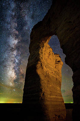 Photograph - Arch Ways And Milky Ways by Darren White