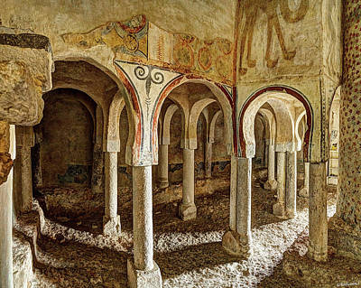 Photograph - Archade In Saint Baudilus by Weston Westmoreland