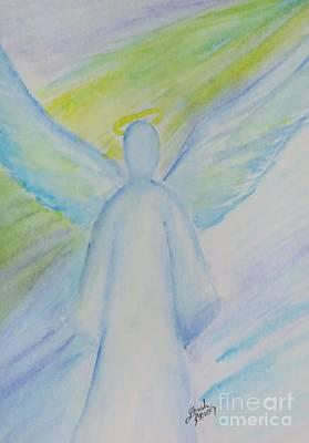 Painting - Archangel 1 by Lorah Buchanan