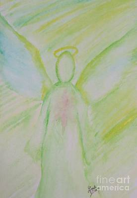 Painting - Archangel 2 by Lorah Buchanan