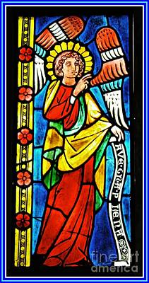 Photograph - Archangel Gabriel by Sarah Loft