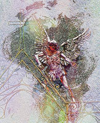 Digital Art - Archangel Michael  by Dorothy Berry-Lound