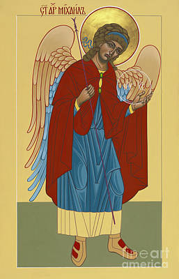 Painting - Archangel St Michael 193 by William Hart McNichols