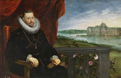 Man Painting - Archduke Alberto De Austria by Peter Paul Rubens