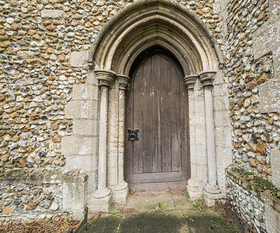 Photograph - Arched Doorway by Jean Noren