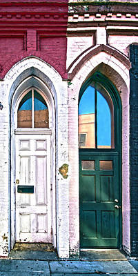 Photograph - Door One And Door Too by David Ralph Johnson