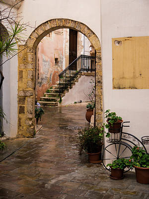 Photograph - Arched Entrance In Chania by Rae Tucker