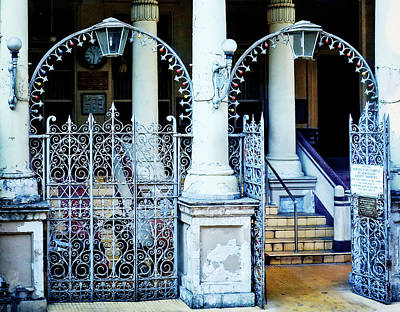 Photograph - Arched Entrance In Mumbai by Marion McCristall