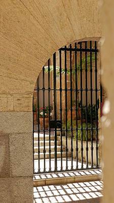 Photograph - Arched Gate by Herb Paynter