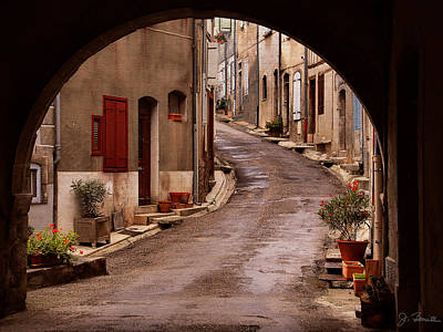 Photograph - Arched Street Scene by Joe Bonita