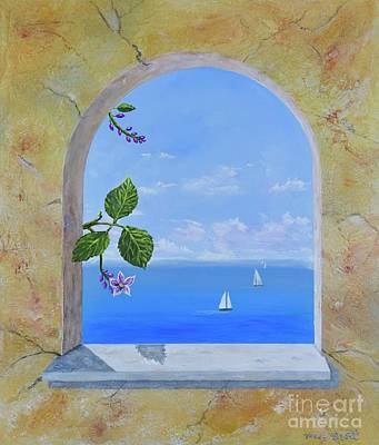 Painting - Arched View by Mary Scott