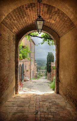 Photograph - Arched View by Uri Baruch