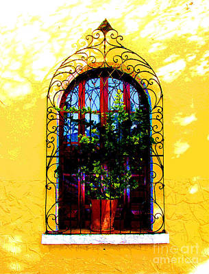 Portal Photograph - Arched Window By Darian Day by Mexicolors Art Photography