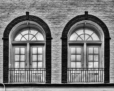 Photograph - Arched Windows by Dawn Currie