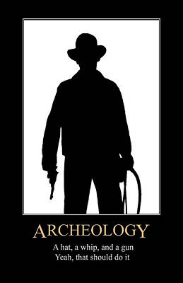 Digital Art - Archeology by John Haldane