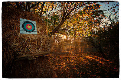 Photograph - Archery Autumn by Tim Nichols