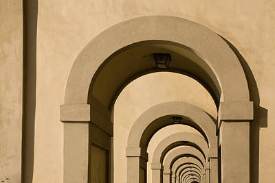 Photograph - Arches 1 by Art Ferrier