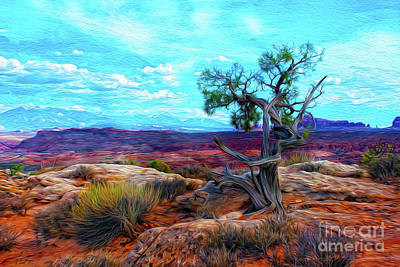Mixed Media - Arches - An Epic Utah National Park by Bill And Deb Hayes