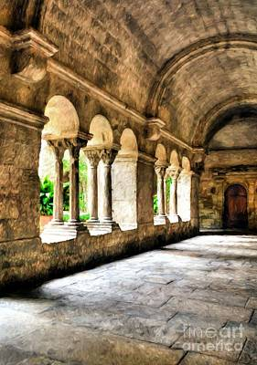 Photograph - Arches And Columns # 2 by Mel Steinhauer