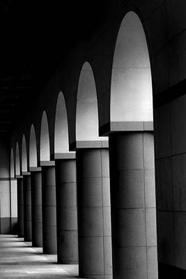 Arches And Columns 1 Art Print by John Gusky