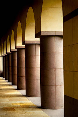 Arches And Columns 2 Art Print by John Gusky