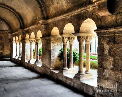 Photograph - Arches And Columns by Mel Steinhauer