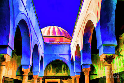 Photograph - Arches And Dome by Rick Bragan