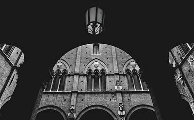 Photograph - Arches At Palazzo Pubblico In Siena, Tuscany, Italy by Alexandre Rotenberg