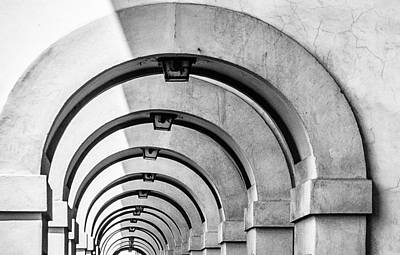 Photograph - Arches At The Arno by Gary Karlsen