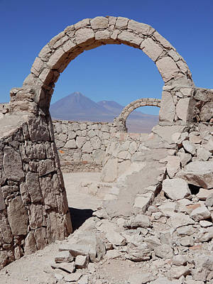 Photograph - Pukara De Quitor Arches by Cheryl Hoyle