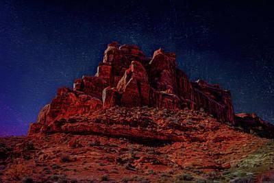 Photograph - Arches Digital Opus by John M Bailey