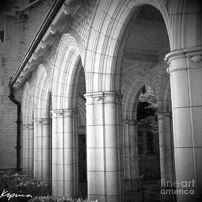 Photograph - Arches, First United Methodist Church, Ft. Worth, Texas by Greg Kopriva