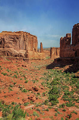 Photograph - Arches National Park 1 by Susan McMenamin